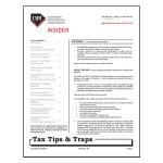 2015 Q1 Tax Tips & Traps