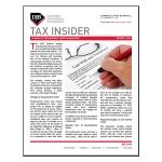 Tax Insider: October 2015