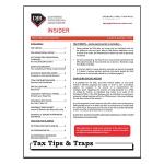 2015 Q4 Tax Tips & Traps