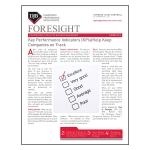 Foresight – Summer 2016