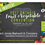 2017 Ontario Fruit & Vegetable Conference