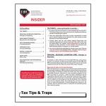 2017 Q1 Tax Tips & Traps