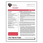 2017 Q3 Tax Tips & Traps