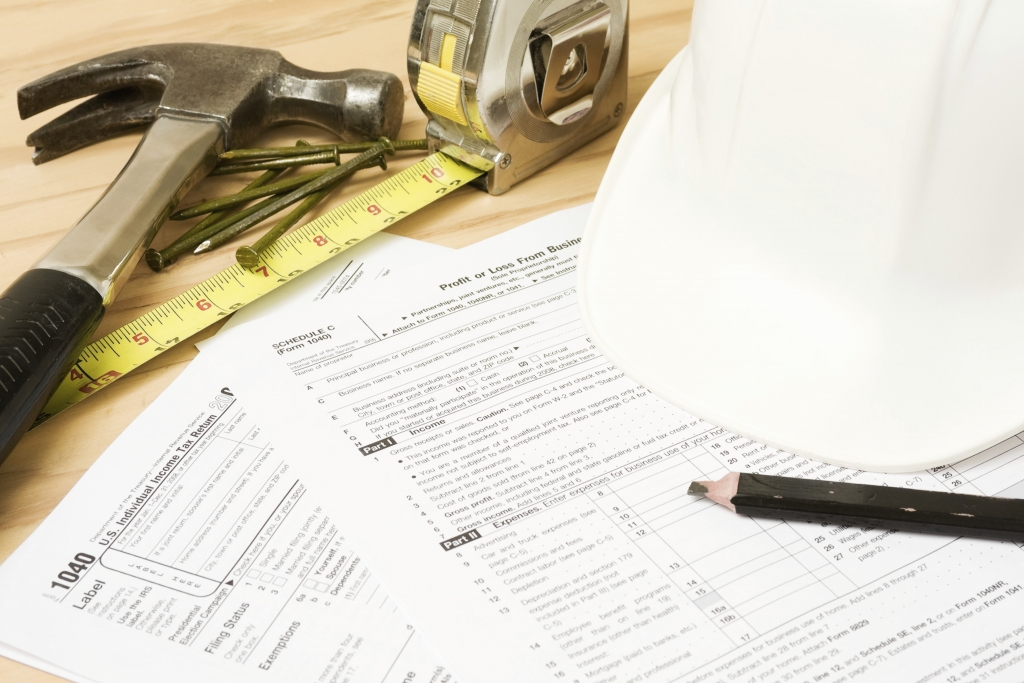 Tax returns that are construction industry related
