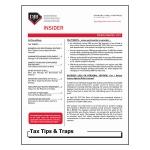 2017 Q4 Tax Tips & Traps