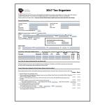 2017 Personal Tax Organizer