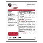 2018 Q2 Tax Tips & Traps
