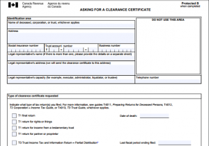Estate Planning – Don't Forget About the Tax Clearance