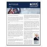 IAIC In Focus – July 2018