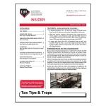2018 Q3 Tax Tips & Traps