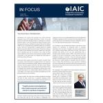 IAIC In Focus – October 2018