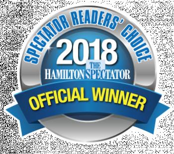 Spectator readers' choice badge 2018