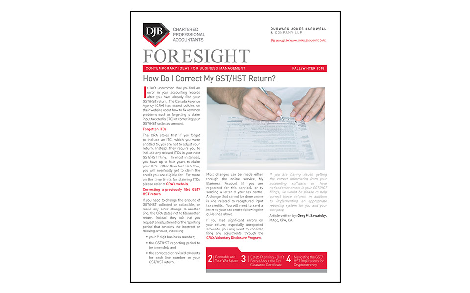 Thumbnail of Foresight publication Fall 2018