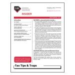 2019 Q1 Tax Tips & Traps