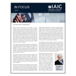 IAIC In Focus – April 2019