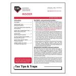 2019 Q2 Tax Tips & Traps