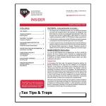 2019 Q4 Tax Tips & Traps