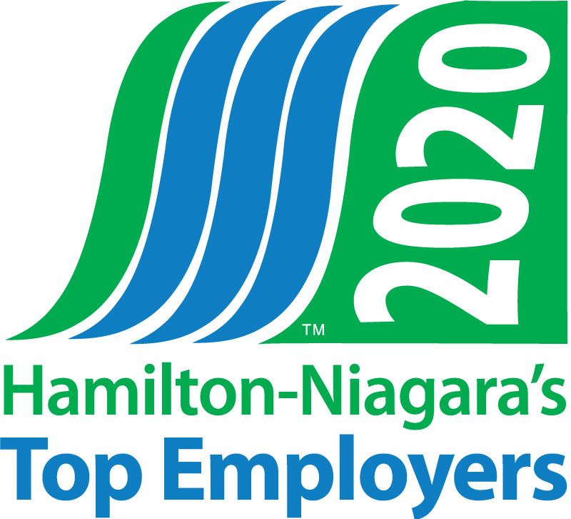 Hamilton-Niagara's Top Employers Logo