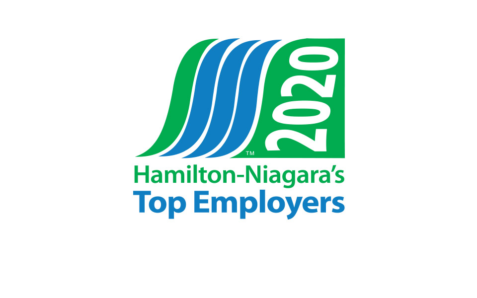 Hamilton-Niagara's Top Employer Logo