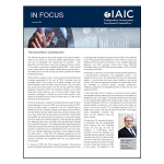 IAIC IN FOCUS – January 2020