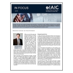 IAIC In Focus – April 2020