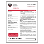 2020 Q2 Tax Tips & Traps