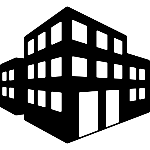 graphic of an office tower