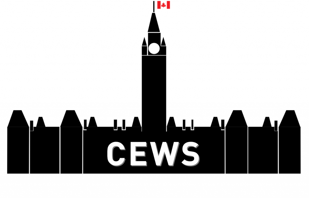 government building with the word CEWS in front of it
