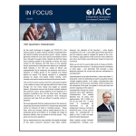 IAIC In Focus – July 2020