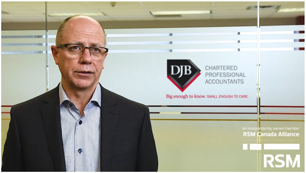 Video thumbnail of Firm Managing Partner talking about why DJB joined the RSM Canada Alliance