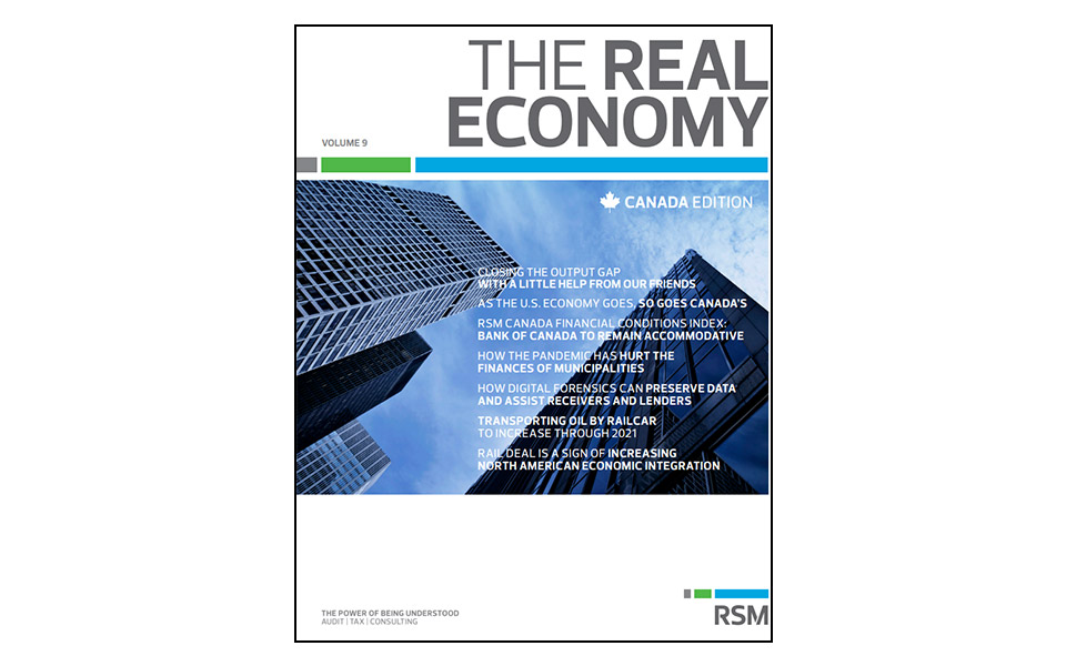 The Real Economy Cover Page