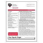 2021 Q2 Tax Tips & Traps