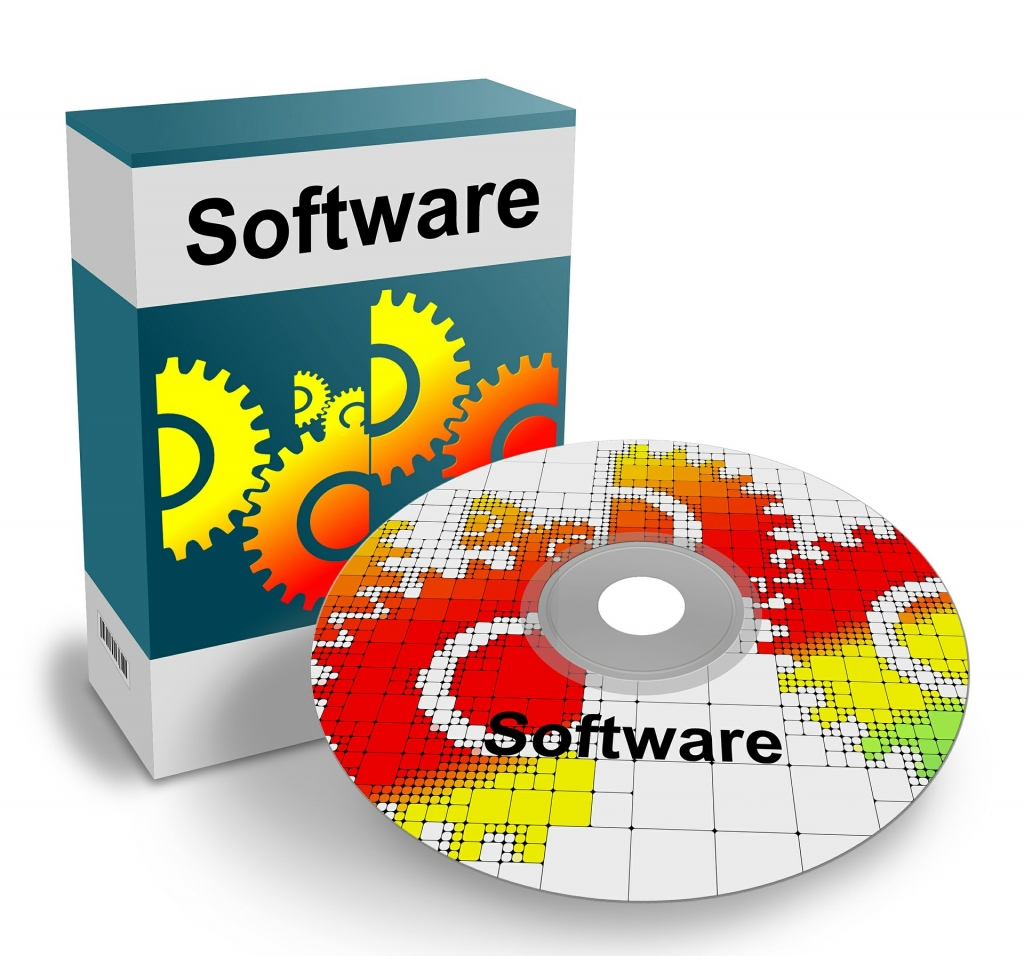 computer software box and disc