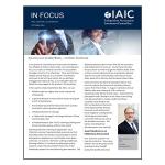 IAIC In Focus – October 2021